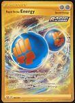 GOLD Rapid Strike Energy 182/163 Secret Rare Battle Styles NM-Pokemon