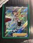Pokémon TCG Korrina's Focus Sword & Shield - Battle Styles 160/163 Holo Full Art
