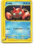 115/165 | Krabby | Expedition | Pokemon Card | Near Mint