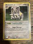 Pokémon TCG Bastiodon Mysterious Treasures 21/123 Exclusive Cosmos Holo Rare