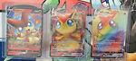 Pokemon TCG (3)Victini V & VMAX 165/163 Battle Styles Rainbow Rare