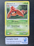Parasect 58/123 Uncommon   DP: Mysterious Treasures   Pokemon Card