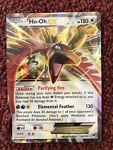 Pokemon Card Ho-Oh EX 92/122 XY BREAKpoint NEVER PLAYED Holo Mint