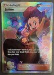 Janine 210/214 Full Art Trainer Ultra Rare Pokemon Card Unbroken Bonds NM/M