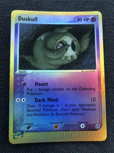 Duskull 62 Sandstorm Common Pokemon Card Near Mint