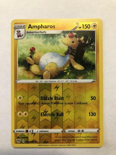 Darkness Ablaze  Rare  Mint//NM Pokemon Ampharos  57//189 S/&S