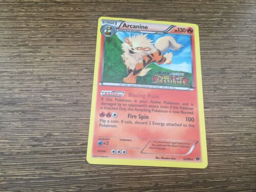 12//99 Arcanine Pre-Release Promo NM Promo Pokemon